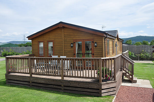 Luxury lodge hire in great surroundings