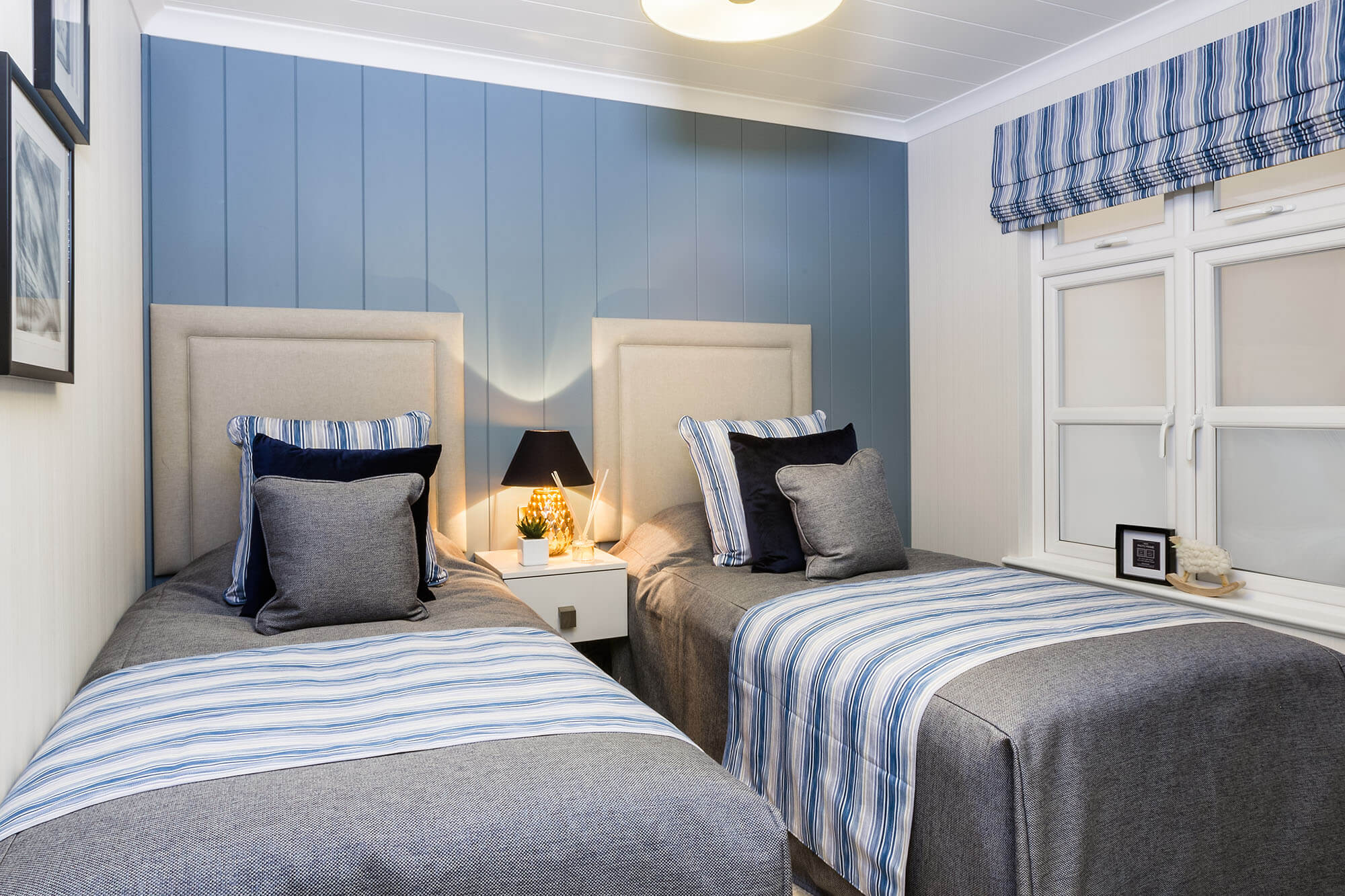 Bowmoor Lodge at Abbots Green Twin Bedroom