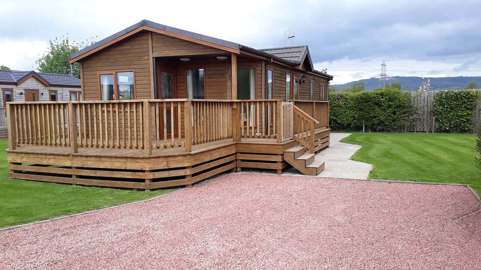 Holiday lodges for sale The Buckland Lodge