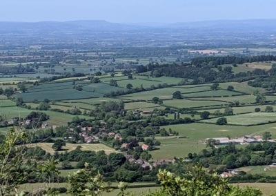 views in North Yorkshire Sutton Bank