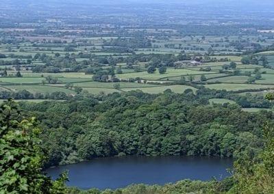 views in North Yorkshire Lake Gormire